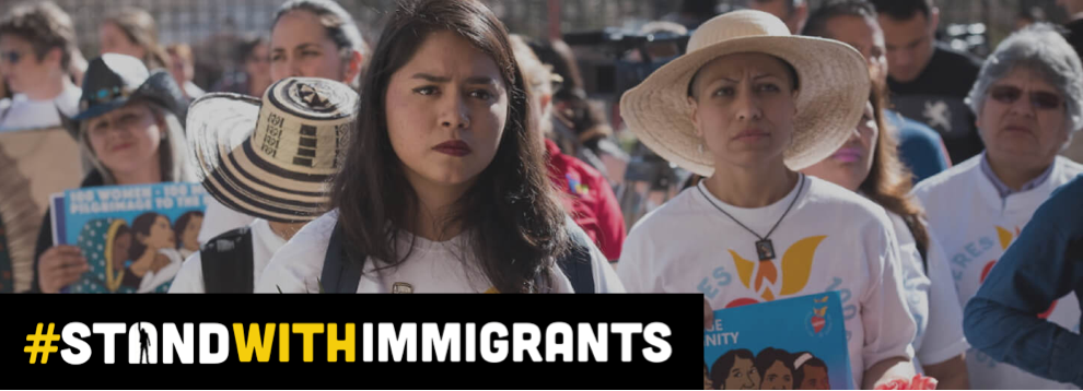 StandWithImmigrants logo